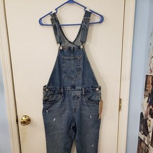 Original denim overalls